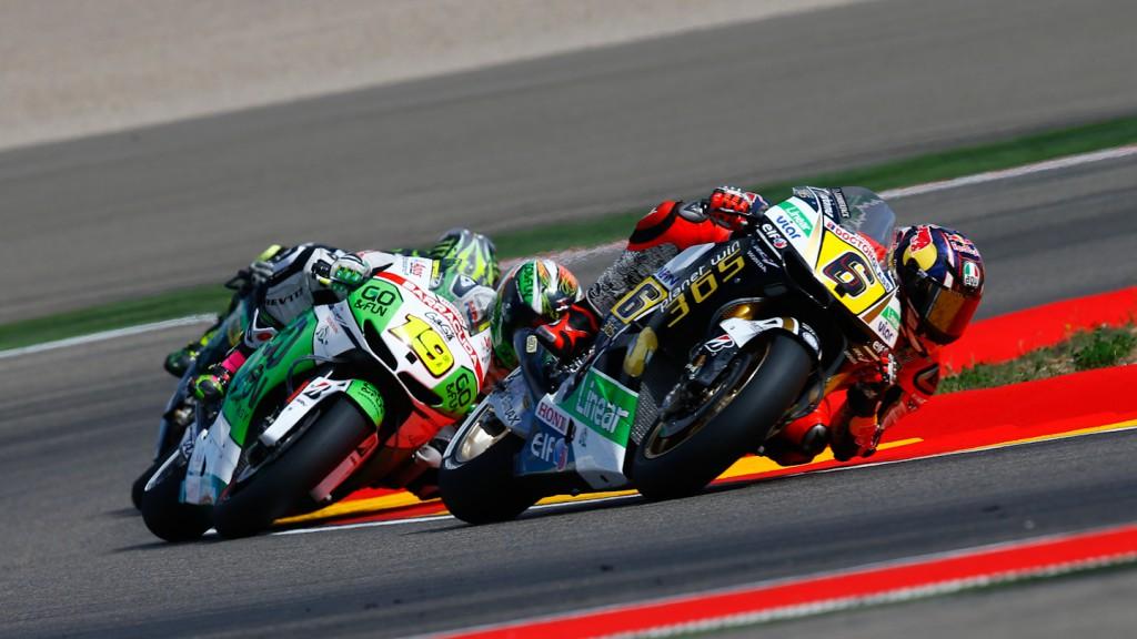 Stefan Bradl, Alvaro Bautista,  LCR Honda MotoGP, GO&FUN Honda Gresini, Aragón RAC