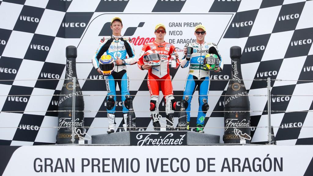 Rabat, Terol, Espargaro, Tuenti HP 40, Aspar Team Moto2, Aragón RAC