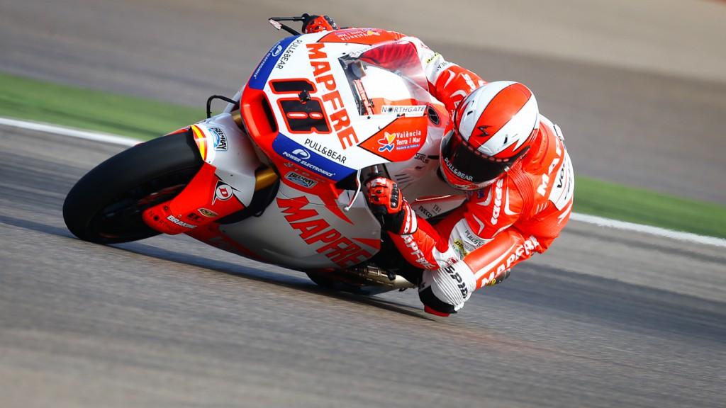Nico Terol, Aspar Team Moto2, Aragón WUP