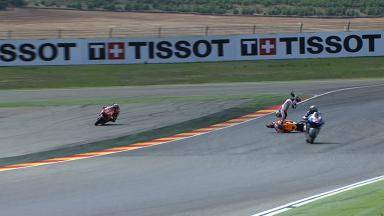 Aragon 2013 - MotoGP - RACE - Action - Dani Pedrosa - crash