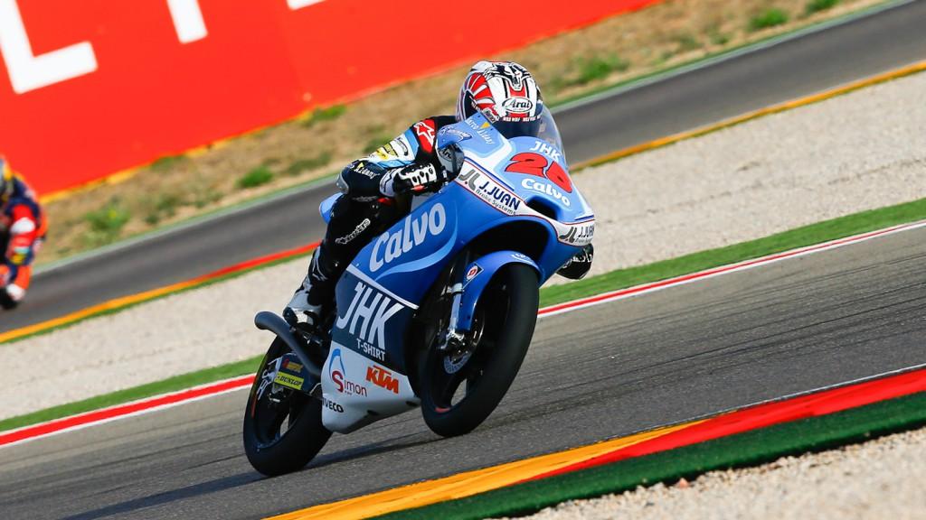 Maverick Viñales, Team Calvo, Aragón RAC