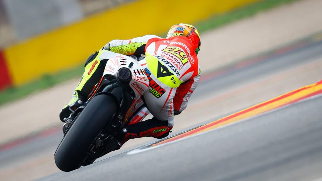 Andrea Iannone, Pramac Racing Team, Aragón RAC
