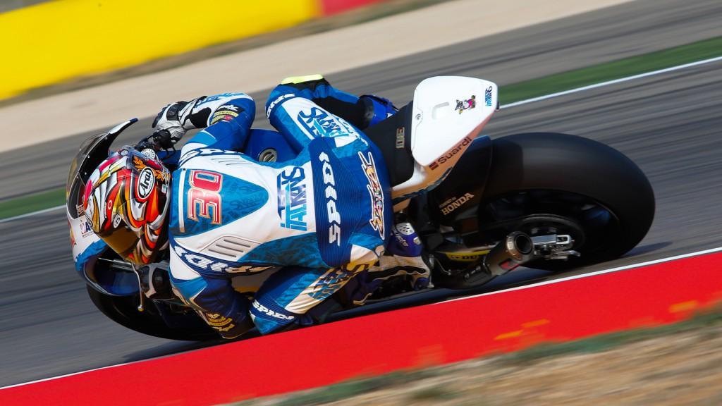 Takaaki Nakagami, Italtrans Racing Team, Aragón WUP