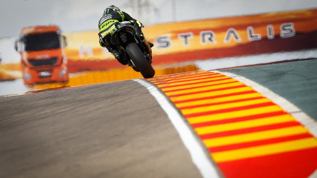 Cal Crutchlow, Monster Yamaha Tech 3, Aragón WUP
