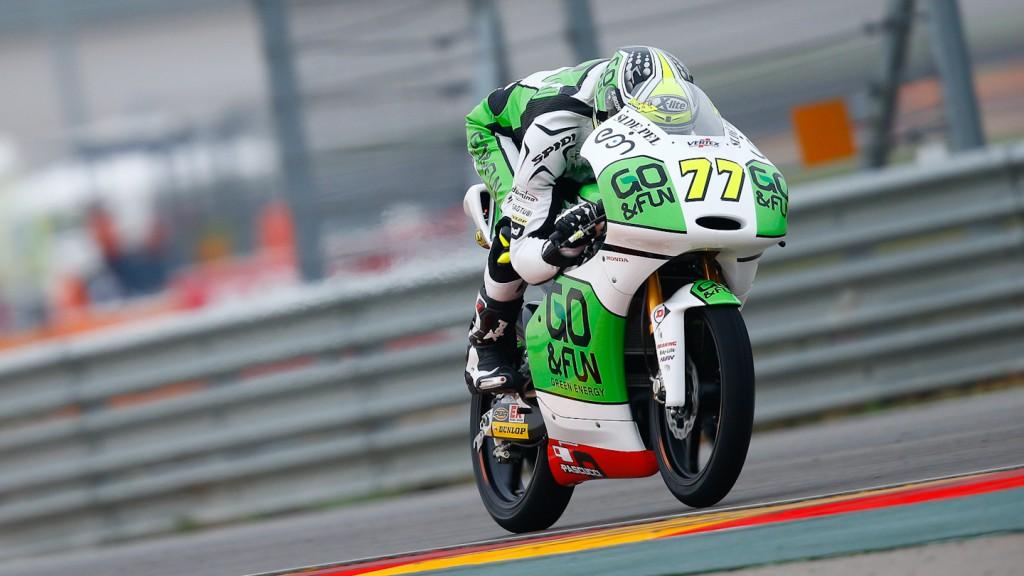 Lorenzo Baldassarri, GO&FUN Gresini Moto3, Aragón WUP