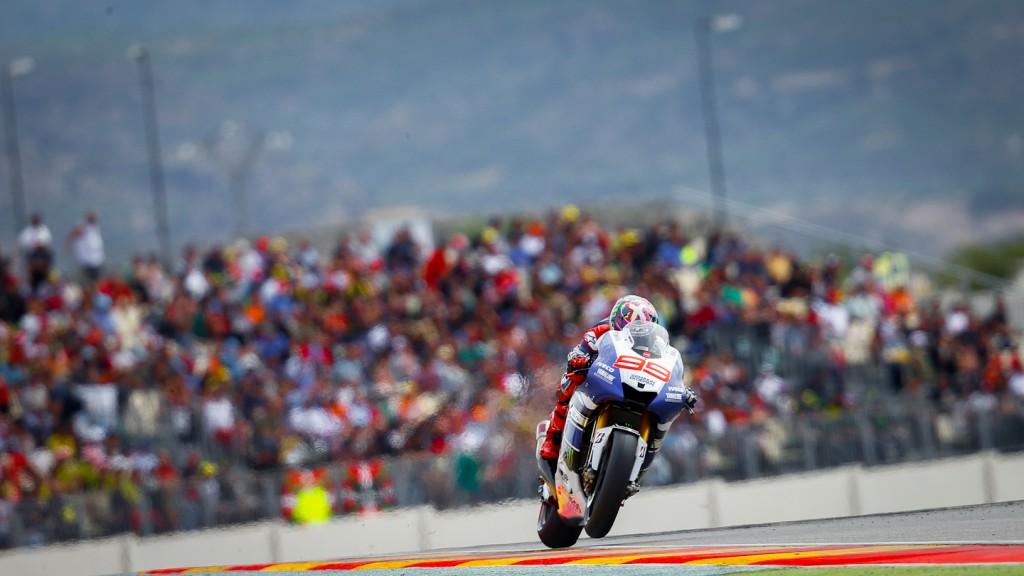 Jorge Lorenzo, Yamaha Factory Racing, Aragón RAC
