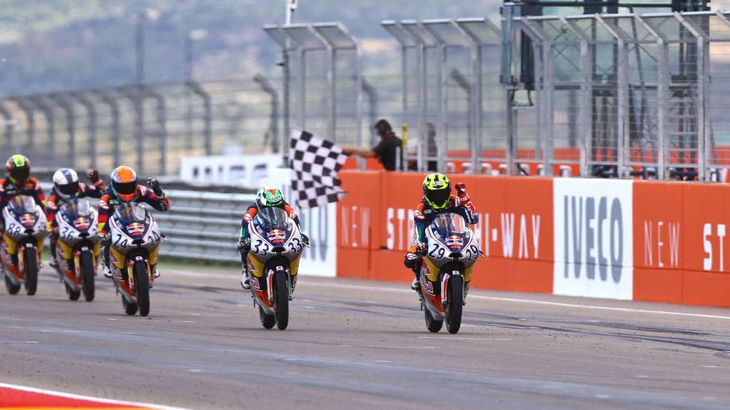 Red BUll Rookies Cup, Aragón RAC