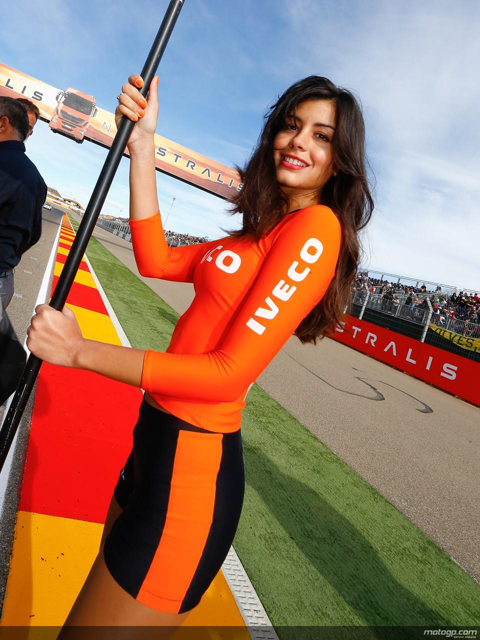 motogp.com · Paddock Girl, Gran Premio Iveco de Aragón