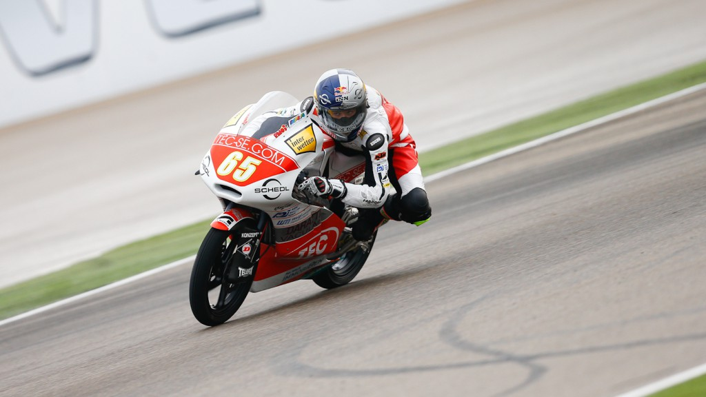 Phillip Oettl, Tec Interwetten Moto3 Racing, Aragón