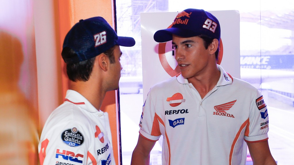 Dani Pedrosa, Marc Marquez, Repsol Honda Team, Sepang Circuit