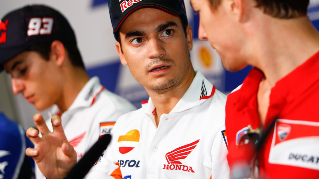 Dani Pedrosa, Shell Advance Malaysian Motorcycle Grand Prix Press conference