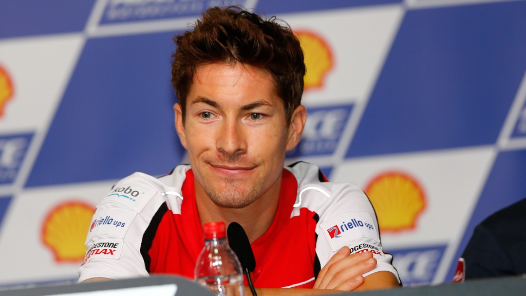 Nicky Hayden, Shell Advance Malaysian Motorcycle Grand Prix Press conference