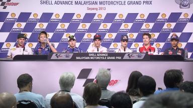 Shell Advance Malaysian Motorcycle Grand Prix: Pre-event Press Conference