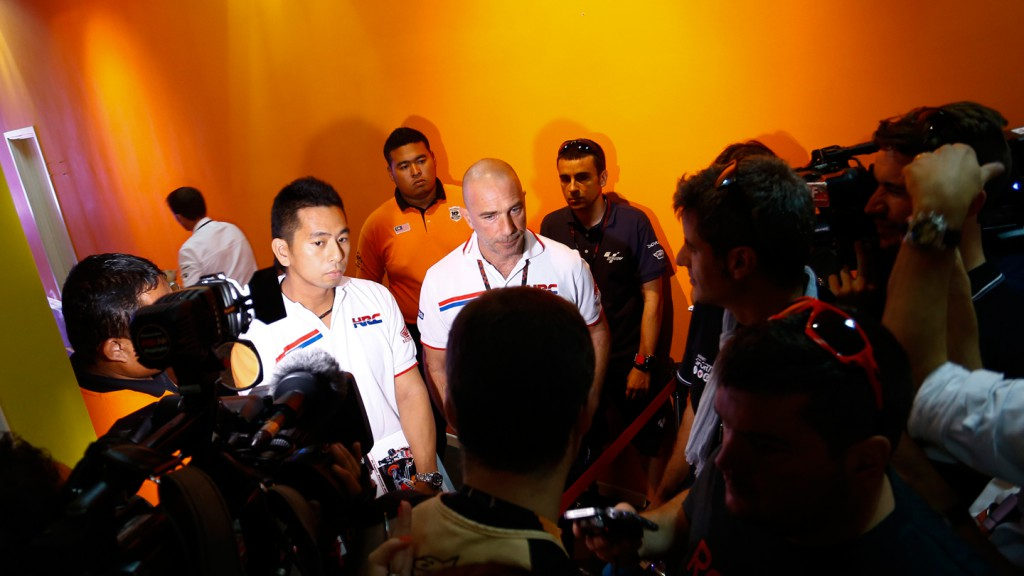 Livio Suppo, Team Principal Repsol Honda Team, Sepang Circuit