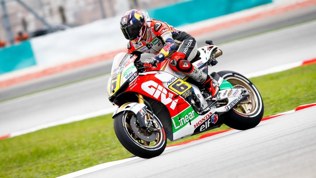 Stefan Bradl, LCR Honda MotoGP, Sepang FP1