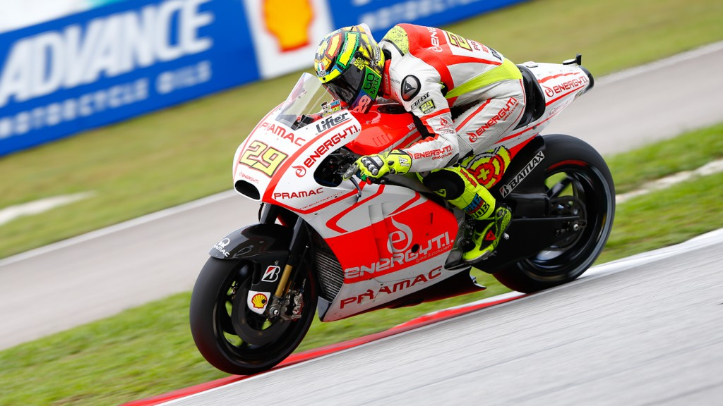 Andrea Iannone, Pramac Racing Team, Sepang FP2