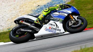 Valentino Rossi, Yamaha Factory Racing, Sepang FP2