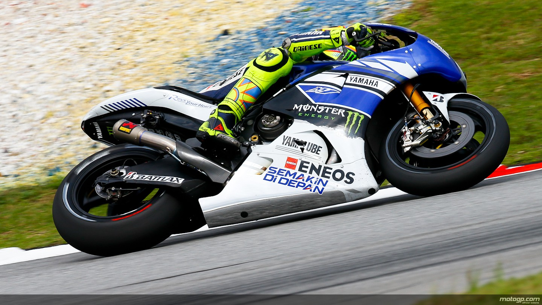 motogp.com · Valentino Rossi, Yamaha Factory Racing, Sepang FP2
