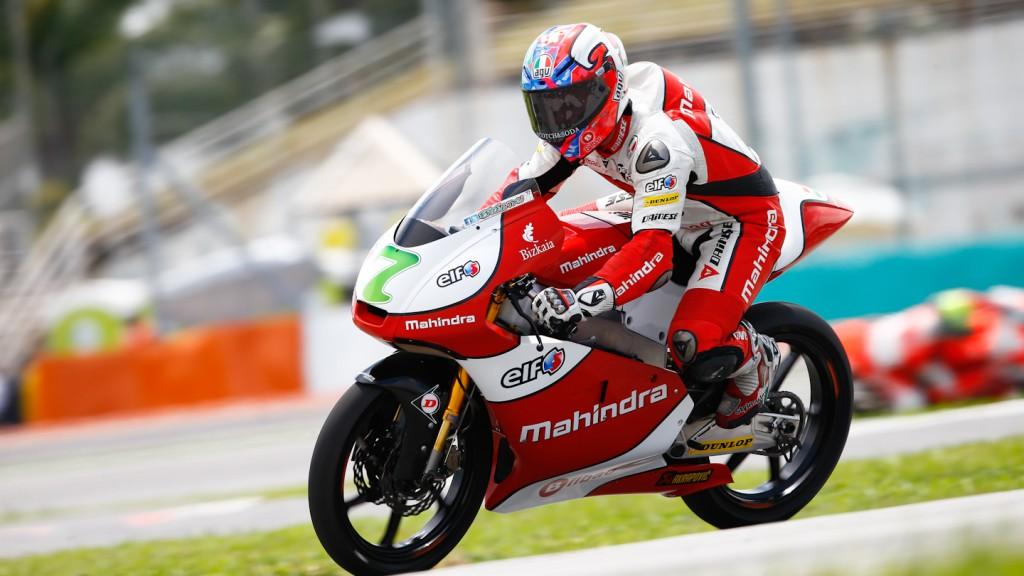 Efren Vazquez, Mahindra Racing, Sepang QP
