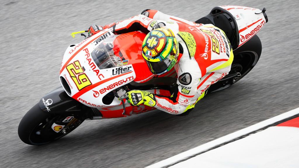 Andrea Iannone, Pramac Racing Team, Sepang Q2