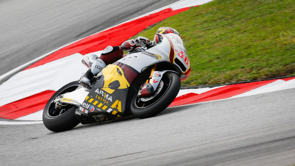 Mika Kallio, Marc VDS Racing Team, Sepang QP