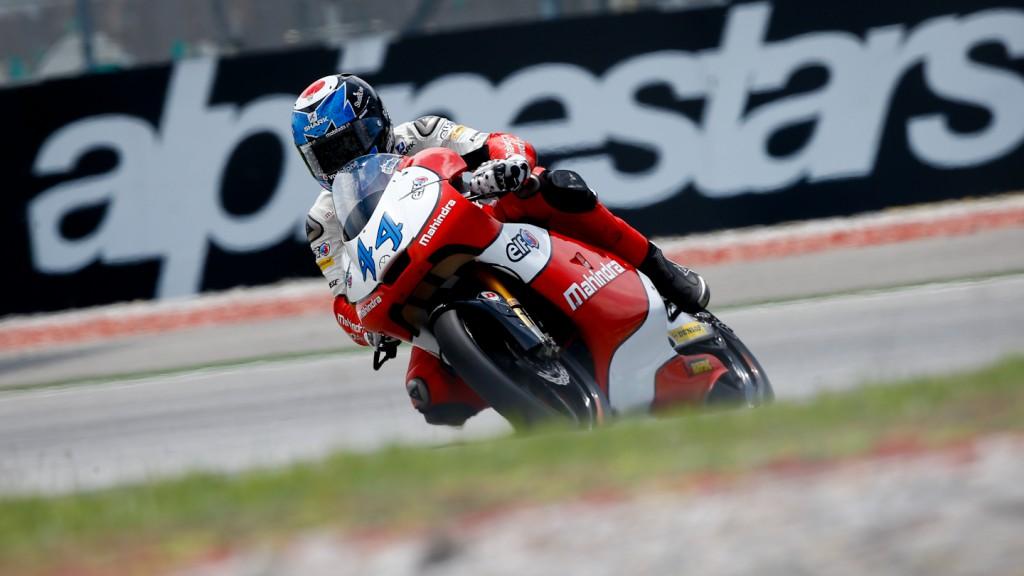 Miguel Oliveira, Mahindra Racing, Sepang QP