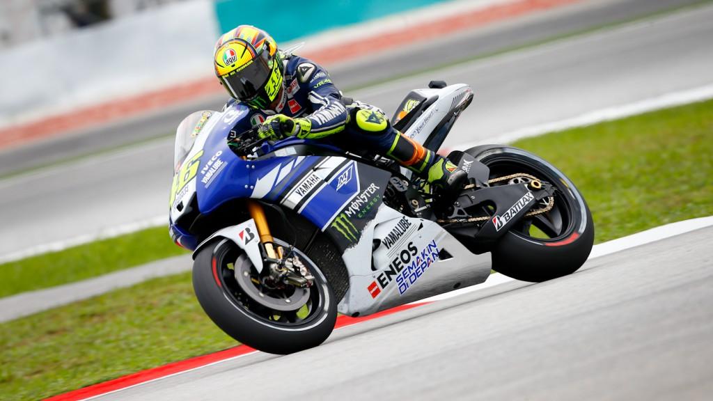 Valentino Rossi, Yamaha Factory Racing, Sepang Q2