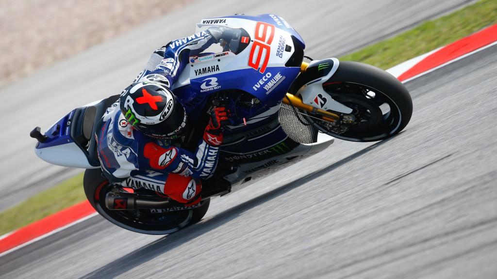 Jorge Lorenzo, Yamaha Factory Racing, Sepang FP3