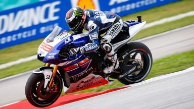 Jorge Lorenzo, Yamaha Factory Racing, Sepang Q2