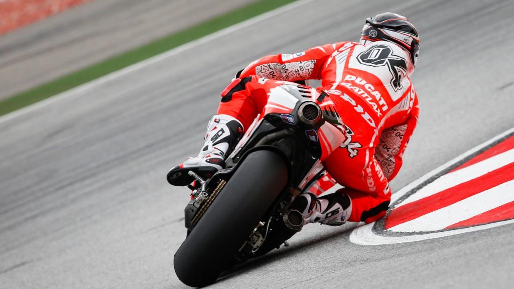 Andrea Dovizioso, Ducati Team, Sepang RAC
