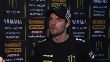 Crutchlow: 'Too much power for these temperatures'