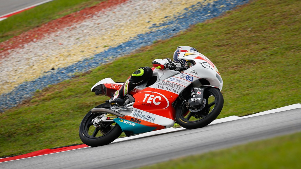 Phillip Oettl, Tec Interwetten Moto3 Racing, Sepang RAC