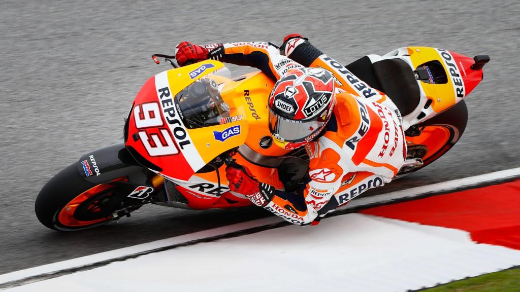 Marc Marquez, Repsol Honda Team, Sepang WUP
