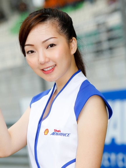 Paddock Girl, Shell Advance Malaysian Motorcycle GP