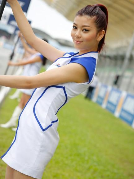 Paddock Girl, Shell Advance Malaysian Motorcycle GP