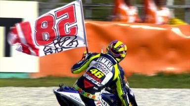 Valentino Rossi's tribute to Marco Simoncelli