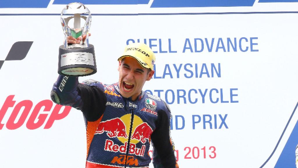 Luis Salom, Red Bull KTM Ajo, Sepang RAC