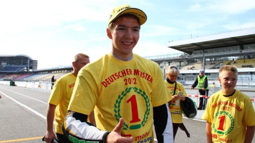 Luca Grunwald, Kiefer Racing Moto3 WM