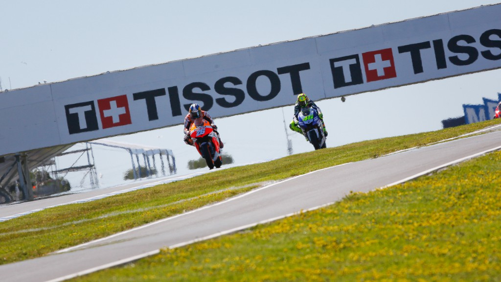 Dani Pedrosa, Valentino Rossi, Repsol Honda Team, Yamaha Factory Racing, Phillip Island FP2