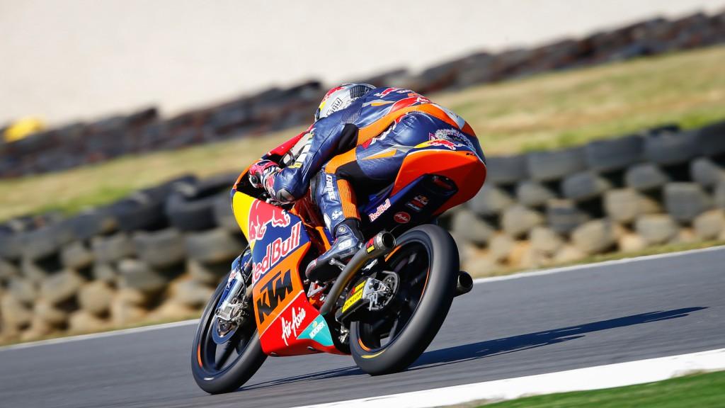 Luis Salom, Red BUll KTM Ajo, Phillip Island FP1