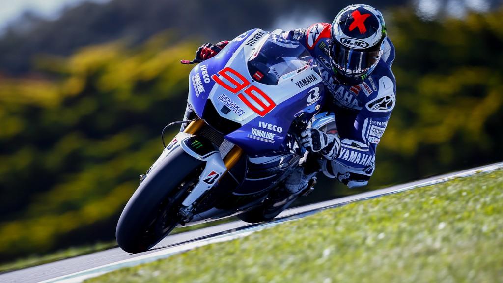 Jorge Lorenzo, Yamaha Factory Racing, Phillip Island FP1