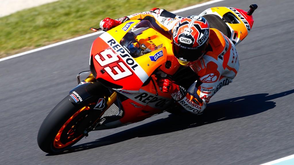 Marc Marquez, Repsol Honda Team, Phillip Island FP1