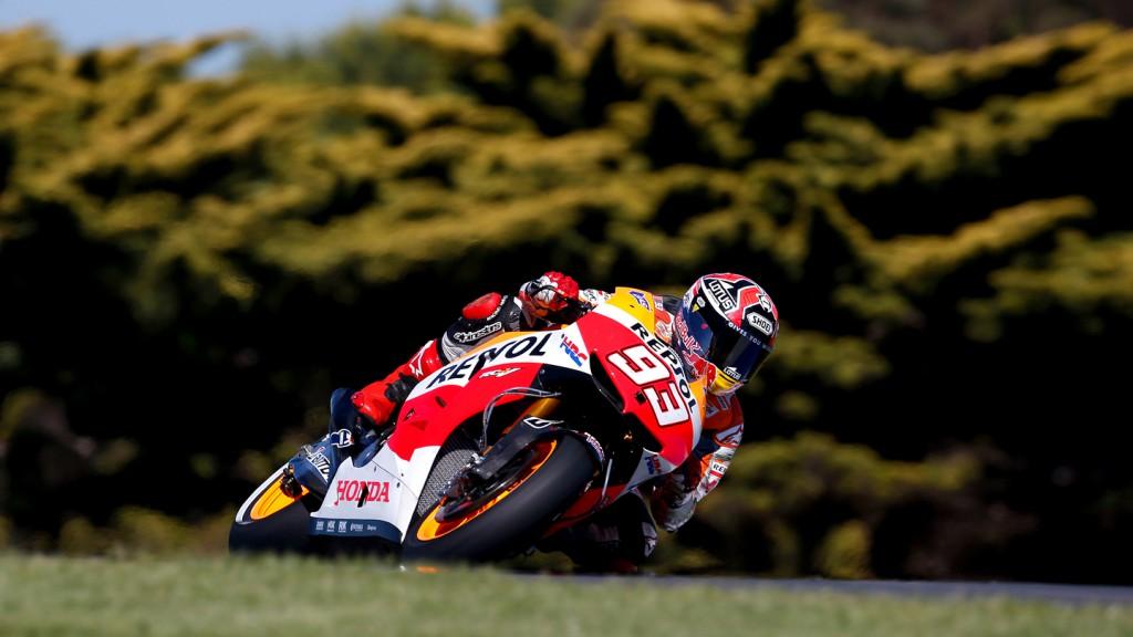 Marc Marquez, Repsol Honda Team, Phillip Island FP2