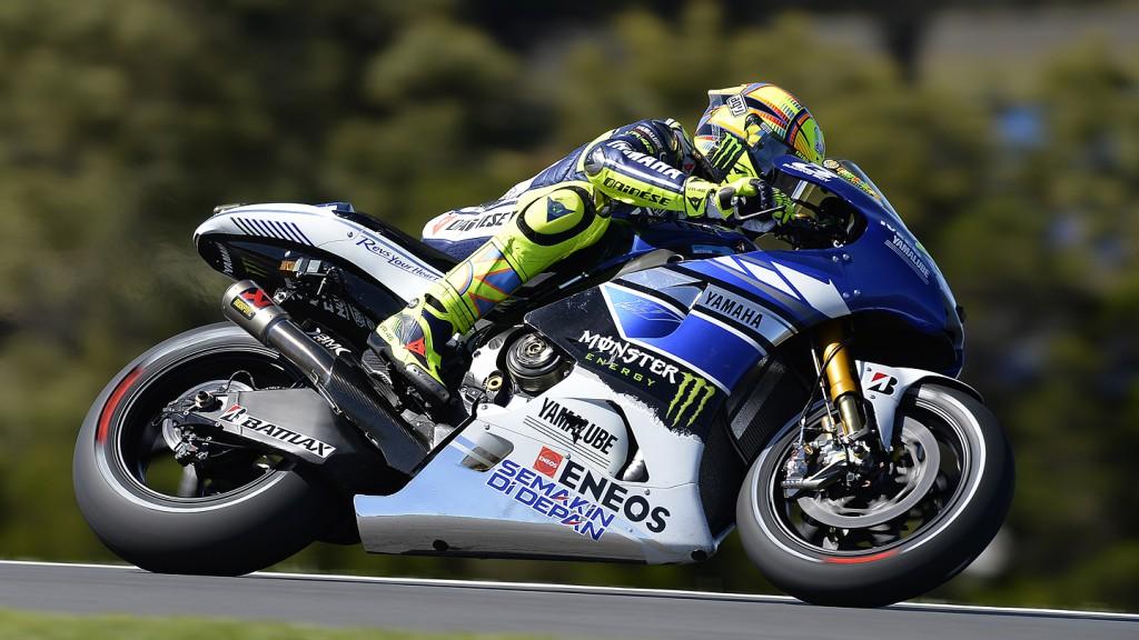 Valentino Rossi, Yamaha Factory Racing, Phillip Island  FP2