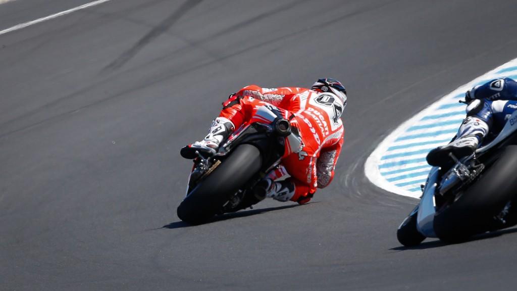 Andrea Dovizioso, Ducati Team, Phillip Island Q2