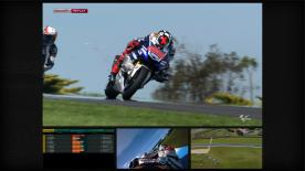Jorge Lorenzo has clinched pole position for the Tissot Australian Grand Prix, beating Marc Marquez and Valentino Rossi to the top spot in a highly dramatic shootout at Phillip Island.