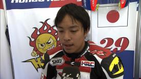 Phillip Island 2013 - Moto3 - QP - Interview - Hyuga Watanabe
