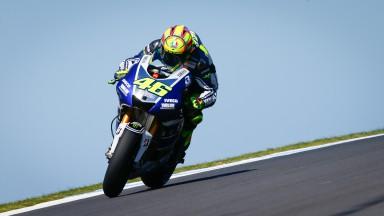 Valentino Rossi, Yamaha Factory Racing, Phillip Island Q2