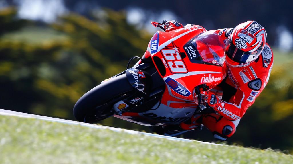 Nicky Hayden, Ducati Team, Phillip Island Q2