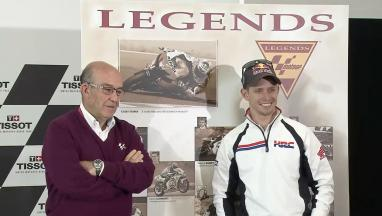 Stoner becomes MotoGP™ Legend: Press conference